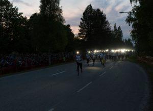 Starten med 1590st lag. Photo: Antti Pitkäjärvi